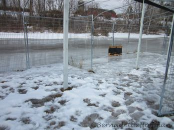 New run is a ice rink