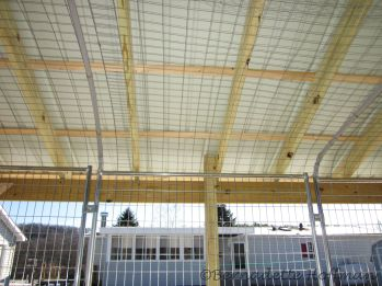 BEFORE - Wire roofing